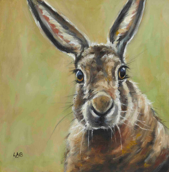 Louise Brown - Hares Looking at You! (Canvas)