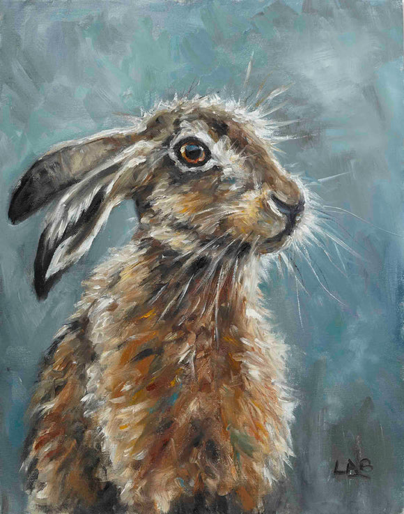 Louise Brown - Whiskers (Canvas)