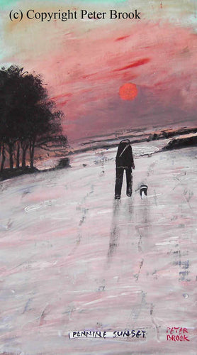 Peter Brook - Pennine Sunset