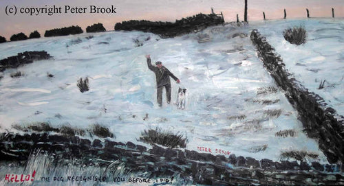 Peter Brook - Hello! The Dog Recognised You Before I Did