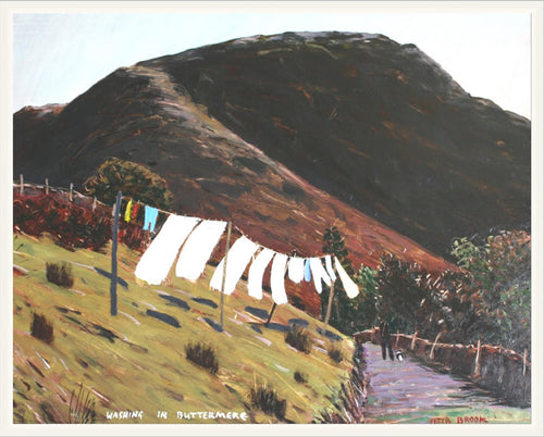 Peter Brook - Washing In Buttermere