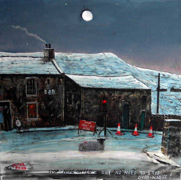 Peter Brook - Stop Here On Red