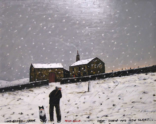 Peter Brook - At First Rain, Then Snow..