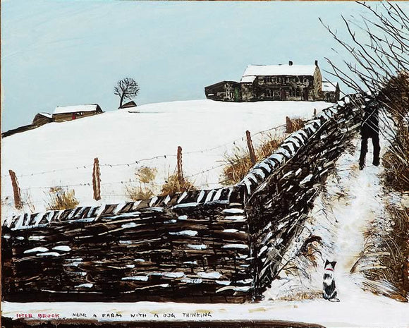 Peter Brook - Near A Farm With A Dog Thinking