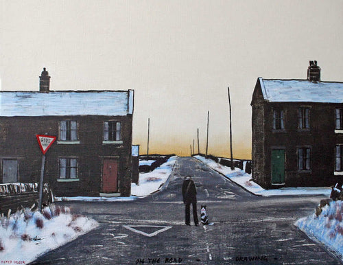 Peter Brook - On The Road, Drawing