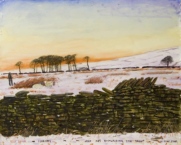 Peter Brook - Looking And Not Disturbing The Sheep