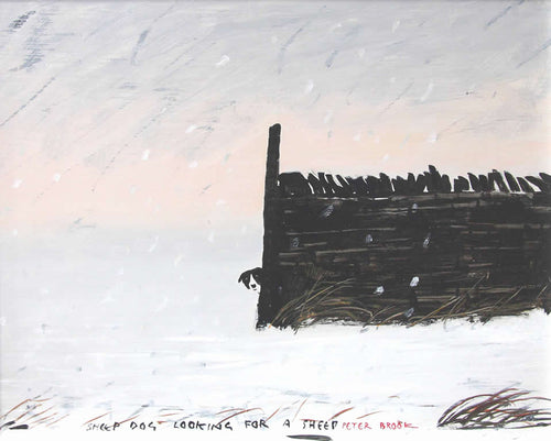 Peter Brook - Sheepdog Looking For A Sheep