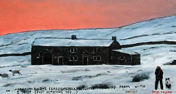 Peter Brook - An Abandoned But Classic Well Situated Pennine Farm