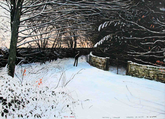Peter Brook - Pausing Whilst Walking In The Woods