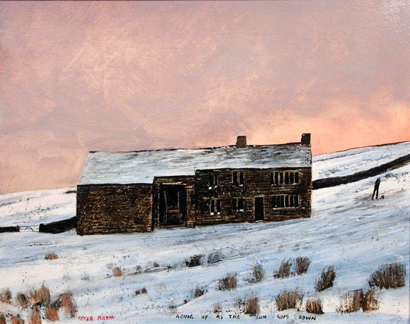 Peter Brook - Going Up As The Sun Goes Down