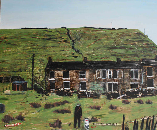 Peter Brook - Pennine Cottages Where Weavers Once Was