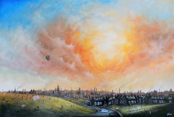 Danny Abrahams - 'There's no Place Like Home.' (Canvas)