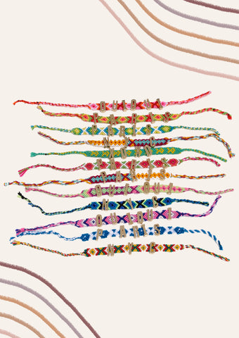 Friendship Bracelets - Gold
