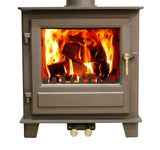 Clock Woodburner 5kw