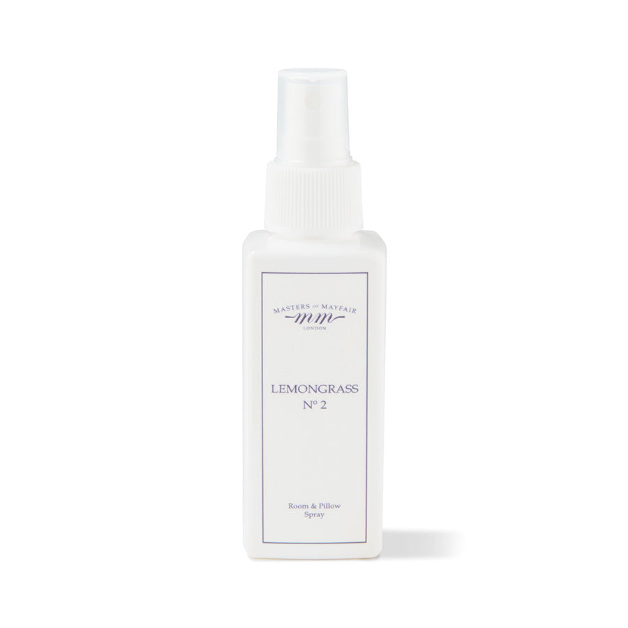 Lemongrass Pillow Spray Mist Scent UK Masters of Mayfair