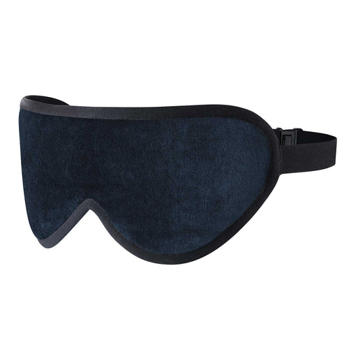 Luxury Sleep Mask in Navy Blue