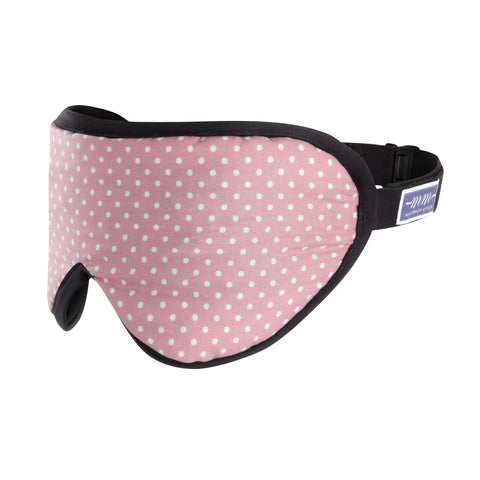 The Sleep Mask - Polka Dots Pink