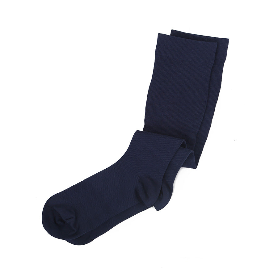 Luxury Compression Socks in Navy Blue