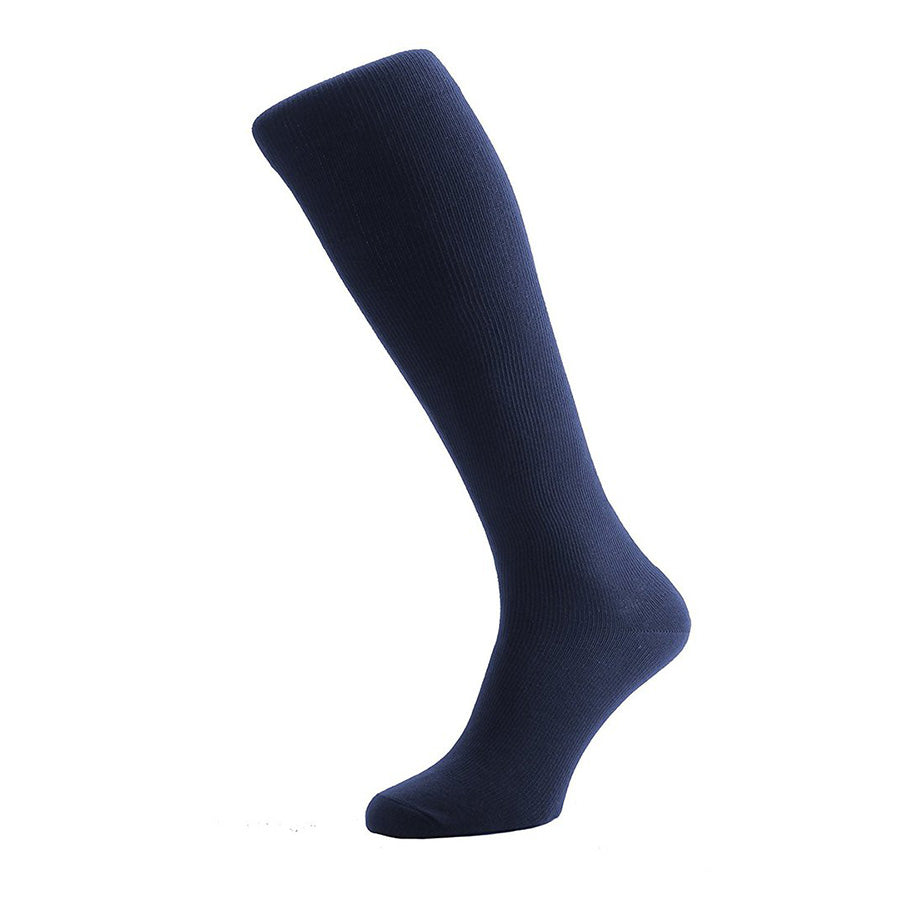 Luxury Travel Socks in Navy Blue