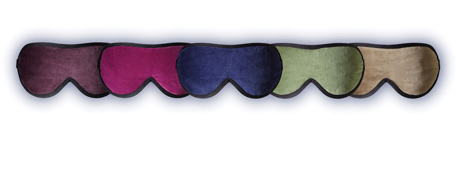 Handmade luxury sleep mask