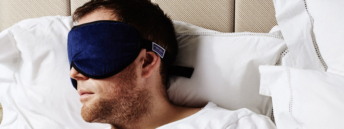 Handmade sleep mask