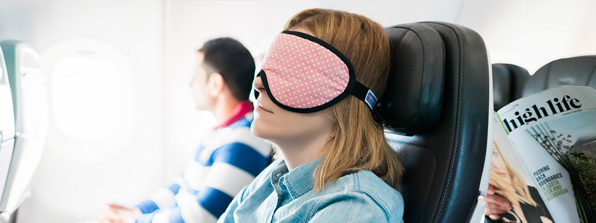 Sleep masks for travel