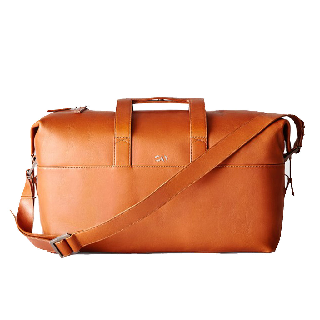 The Leather Weekender - Chestnut