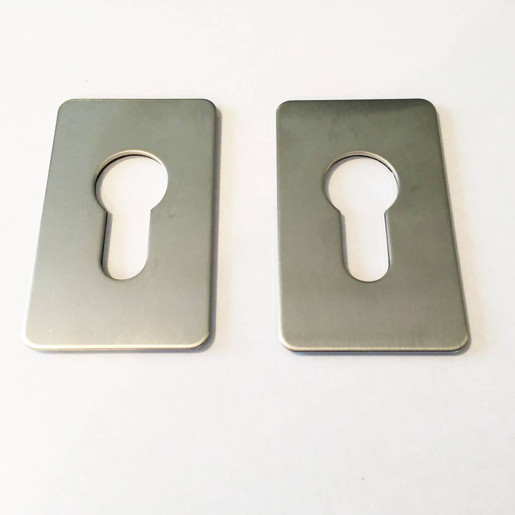 Escutcheon Plate - Stainless Steel