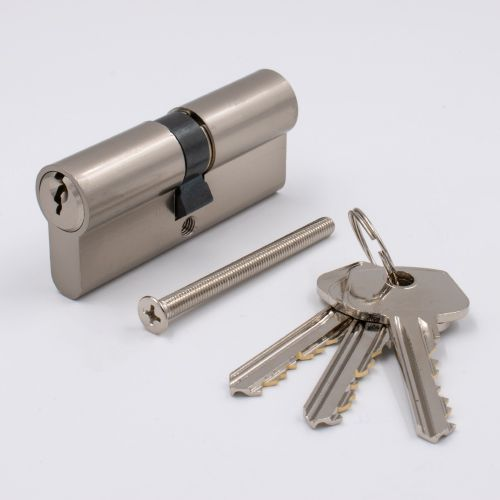 Euro Keyed Cylinder Key/Key 60mm