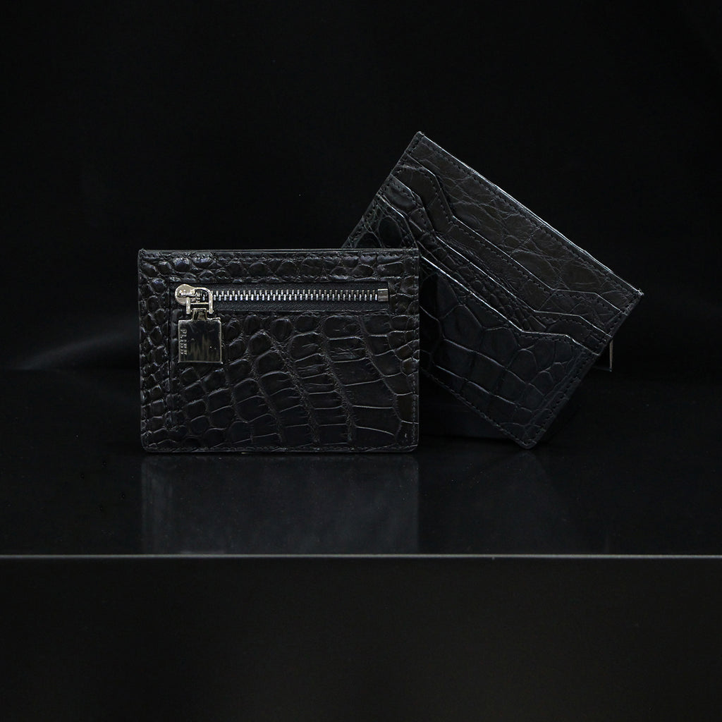 PLINN NAMECARD HOLDER CROCODILE SKIN