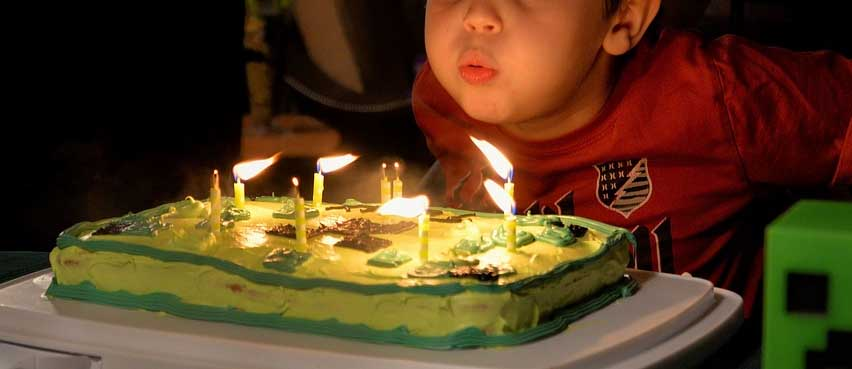 When Were Candles Used On Us Birthday Cakes