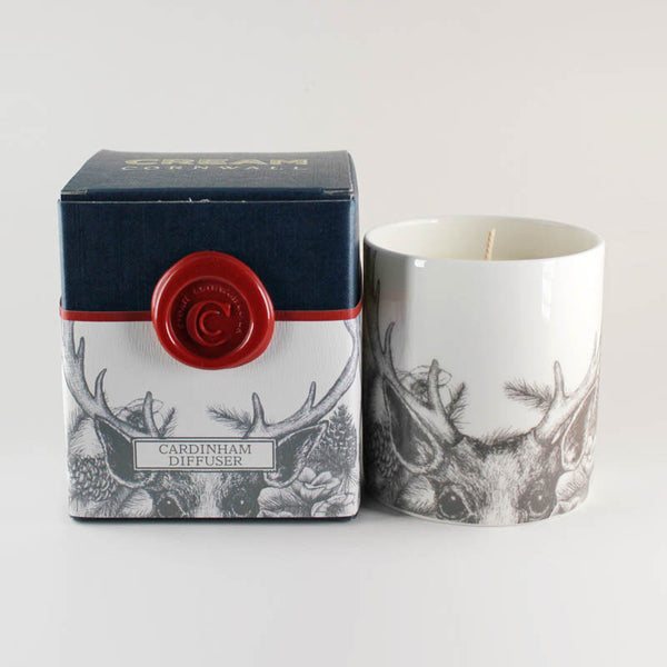 "Cream Cornwall ""Cardinham"" Soy Wax Container Candle"
