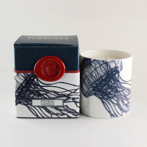 "Cream Cornwall ""Fistral"" Soy Wax Container Candle"
