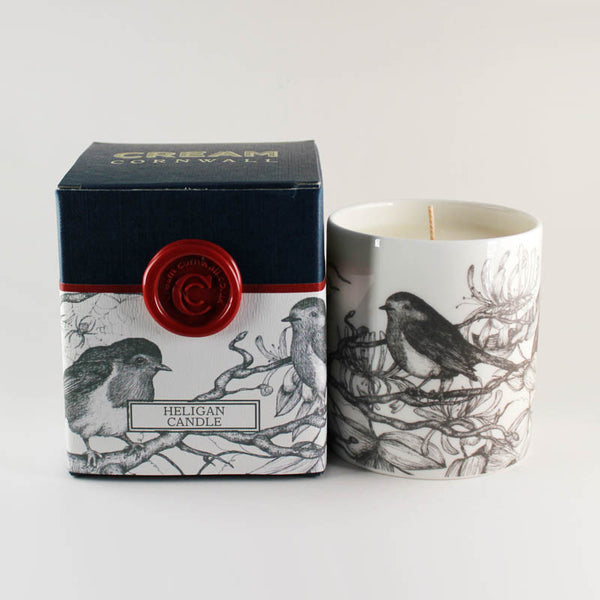 "Cream Cornwall ""Heligan"" Soy Wax Container Candle"
