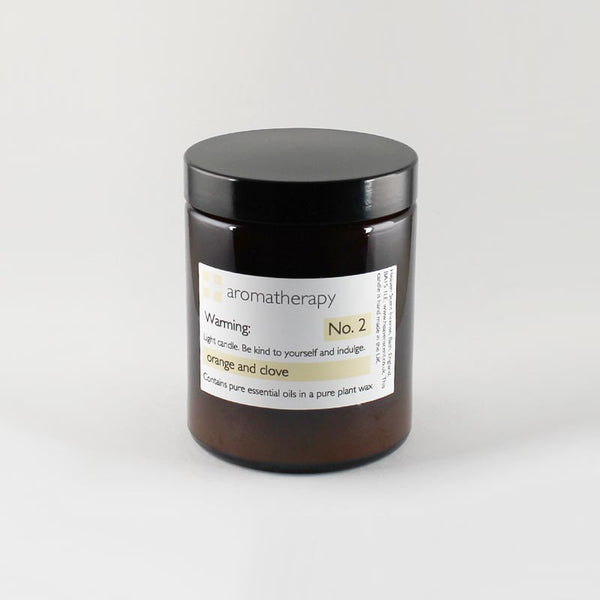 Heaven Scent 180ml Orange & Clove Aromatherapy Candle