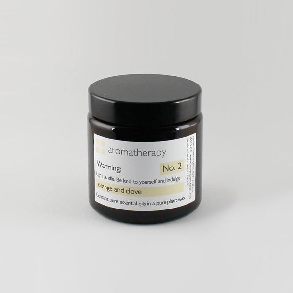 Heaven Scent 120ml Orange & Clove Aromatherapy Candle