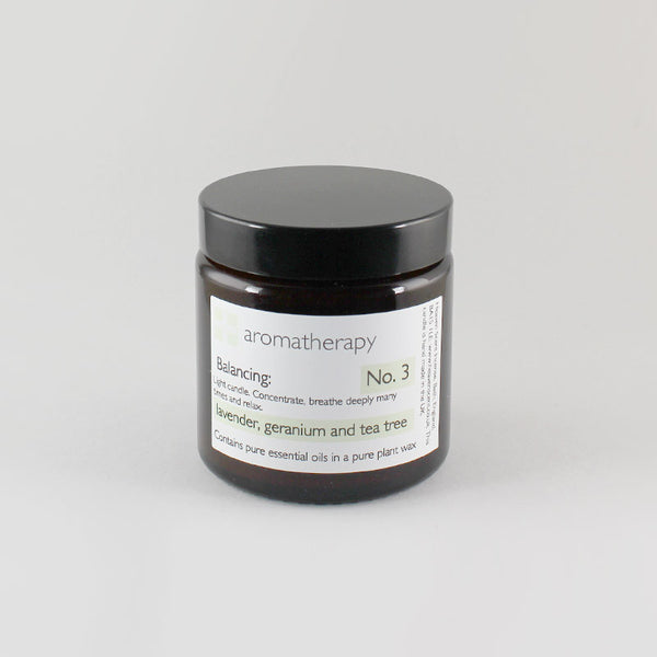 Heaven Scent 120ml Lavender, Geranium & Tea Tree Aromatherapy Candle