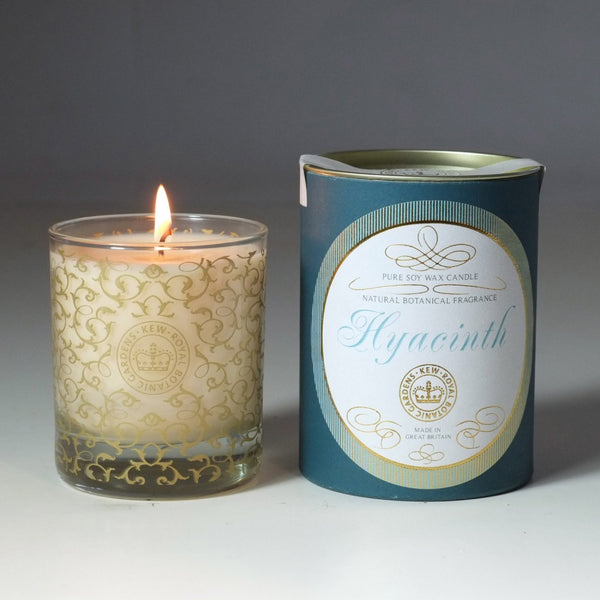 Kew Vintage Hyacinth Scented Soy Wax Container Candle