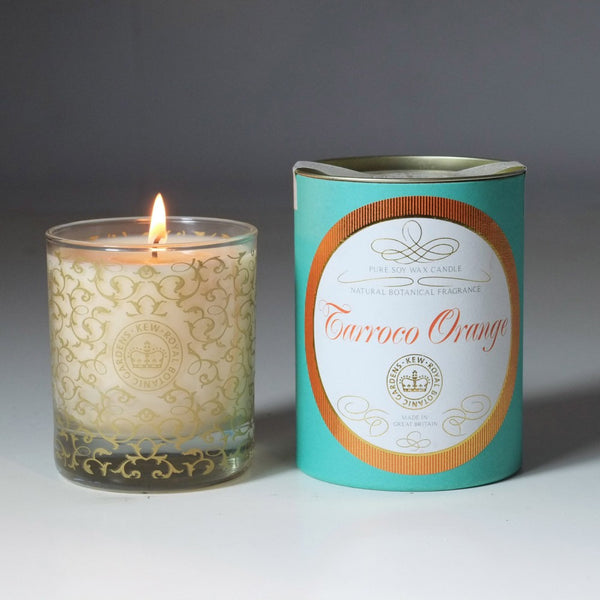 Kew Vintage Tarocco Orange & Patchouli Scented Soy Container Candle