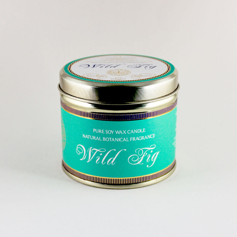 Kew Wild Fig Scented Candle Tin