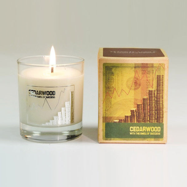 Manscandle Cedarwood Scented Glass Container Candle