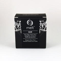 Melt Noir Scented Candle Tin Packaging