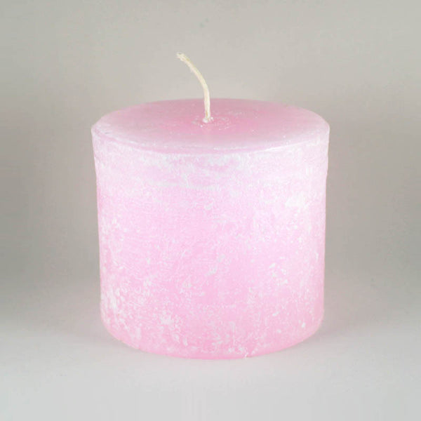 "Melt ""Short & Fat"" Blush Pillar Candle"
