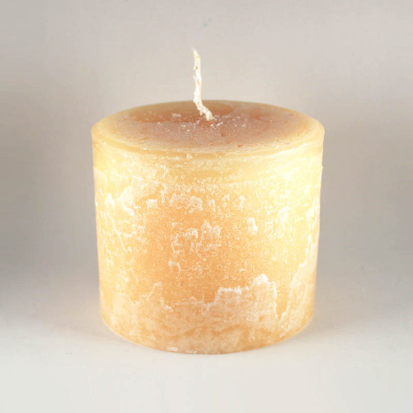 "Melt ""Short & Fat"" Rich Cream Pillar Candle"