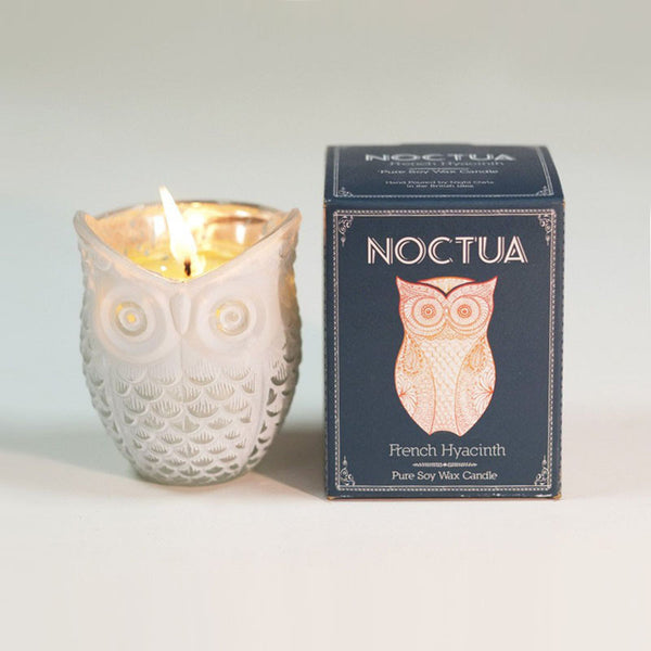 Noctua French Hyacinth Soy Wax Votive Candle