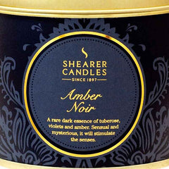Shearer Amber Noir Candles