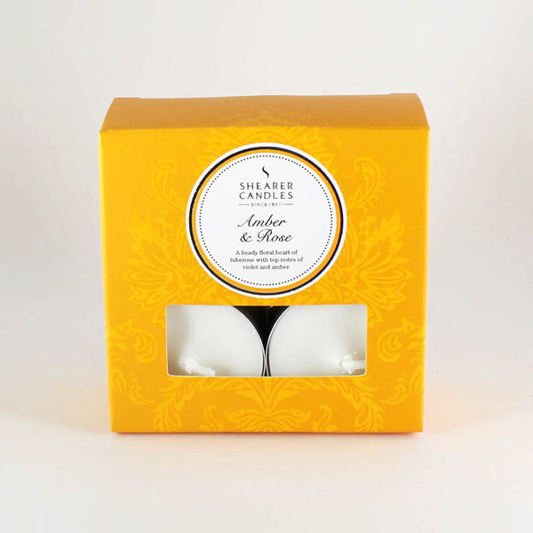 Shearer Amber & Rose Tealights