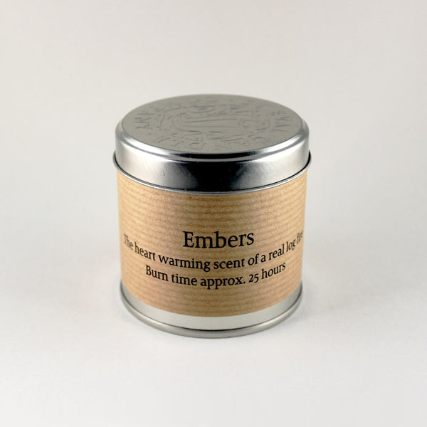 St Eval Embers Small Scented Candle Tin