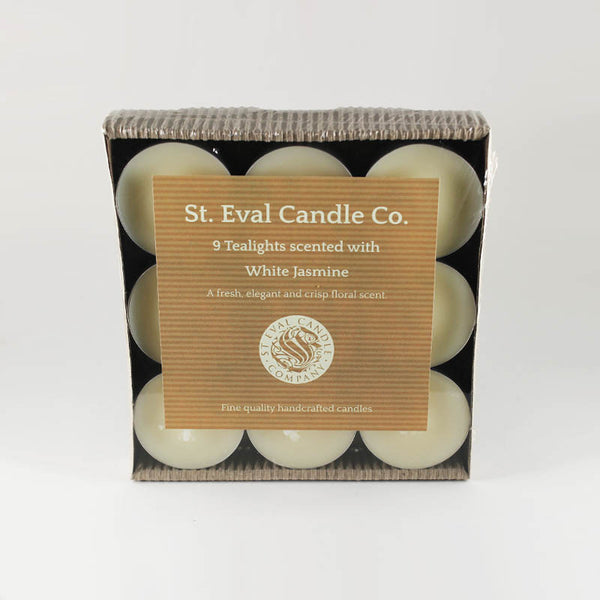 St Eval White Jasmine Scented Tea Lights
