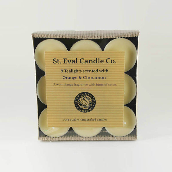 St Eval Orange & Cinnamon Tealights